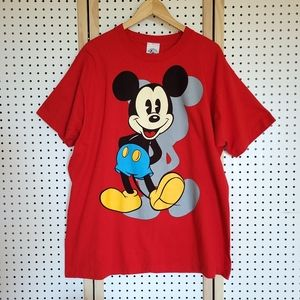 Vintage Mickey Mouse Shirt Deadstock Single Stitch